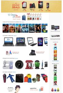 Недопустимая компоновка главной страницы для средних и малых интернет-магазинов