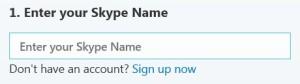 оформление страницы Контакты skype