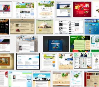 Как оформить главную страницу сайта. Часть 1