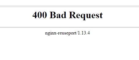 Ошибка 400 Bad Request что делать